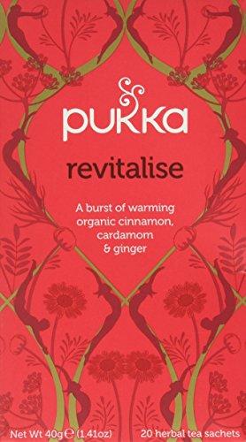 Pukka Herbal AYURVEDA Bio-Revitalisierender Zimt & Kardamom (Kapha), 20 Beutel (1 Stück)