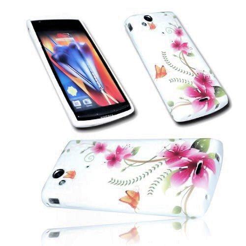 PeKa Internethandel Design No.5 - SILIKON TPU Handy Cover CASE HÜLLE Schale kompatibel mit Sony Ericsson - Xperia X12 - ARC - ARC S -