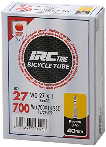 IRCBICYCLETUBE700X18-26C仏式40mmバルブコア取外し可能28929J
