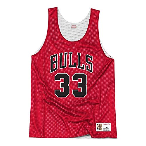 Mitchell & Ness NBA Chicago Bulls Pippen #33 Camiseta sin Mangas White