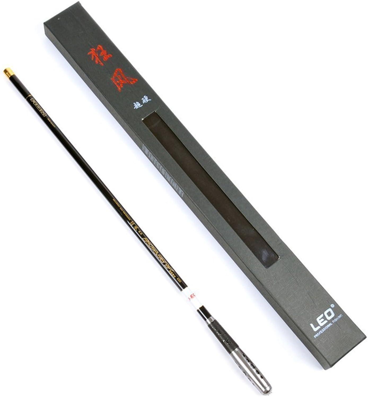 Kuyes Short Metal Hand Power Hard Carbon Fiber Rock Fishing Rod Fishing Pole Rods