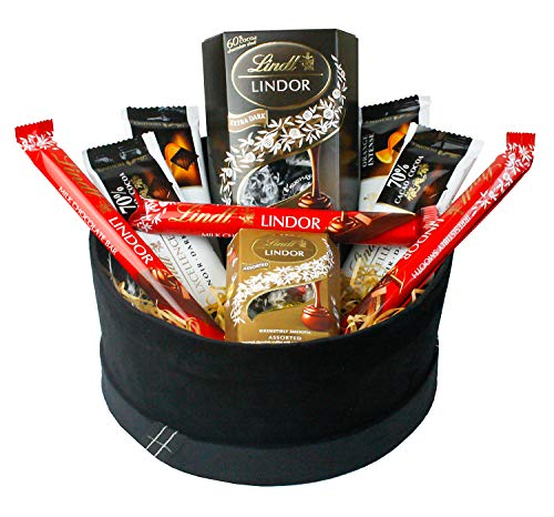 Chocolate Hamper Gift Selection Gift Box Present for All Occasions Easter Birthdays Party Ramadan Eid Favours - Favourite Lindt Treats Set 2