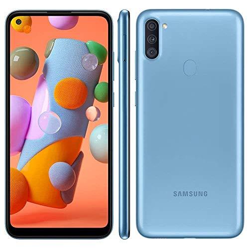 Celular Samsung Galaxy A11 64gb 3gb Ram Octacore Original (AZUL)