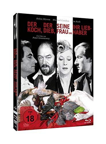 Der Koch, der Dieb, seine Frau und ihr Liebhaber - Mediabook (+ DVD) [Blu-ray]