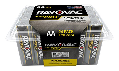Rayovac Batteries ALAA-24F Ultra Pro AA Alkaline Batteries, AA (Pack of 24)