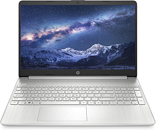 HP 15s gr0008au 15.6-inch Laptop (Ryzen 3 3250U/4GB/1TB HDD + 256GB SSD/Windows 10 Home/AMD Radeon Graphics), Natural Silver