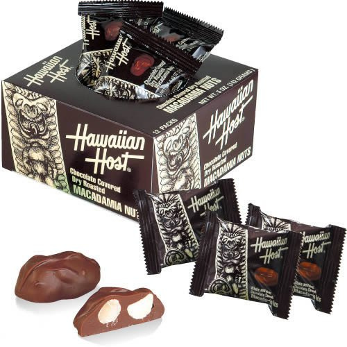 【ハワイ チョコ】ハワイアンホースト マカダミアナッツ チョコボックス1箱(ハワイ チョコレート) 輸入チョコレート 輸入菓子