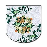 コモライフ トイレふたカバー 花柄レース(1枚入)