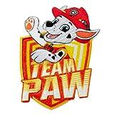 Parche Termoadhesivo - Patrulla Canina - Marshall Paw Patrol - Aplique para Ropa Infantil - 7 x 5 cm