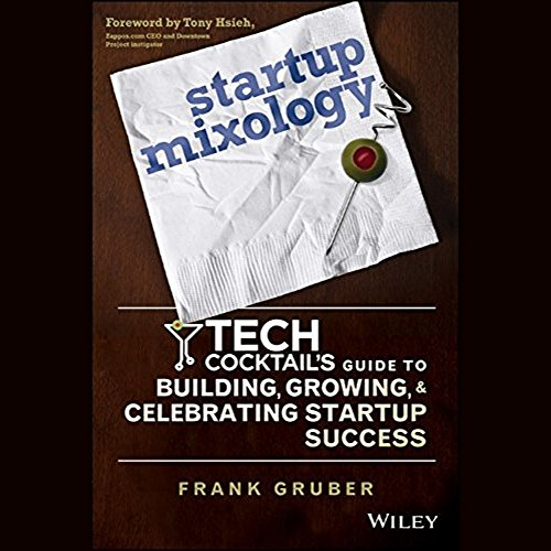 Startup Mixology audiobook cover art