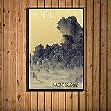 XQWZM Poster und Drucke, Imagine Dragons Music Album