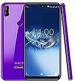 "(2019) 4G cellulari offerte,OUKITEL C16 Pro Android 9.0 Smartphone DUAL SIM - MT6761 Quad-core 2.0GHz 3GB RAM +32GB ROM 5.71"" HD+ Schermo Sgrondo Sblocco Facciale & Impronta digitale GPS, Viola"