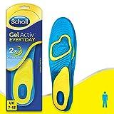 Scholl Men/Women's Gel Active Everyday Insoles, One Size