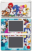 Sonic Boom Hedgehog Tails Amy Rose Knuckles Eggman Shattered Crystal Fire & Ice Orbot Cubot Shadow Video Game Vinyl Decal Skin Sticker Cover for Nintendo DS Lite System