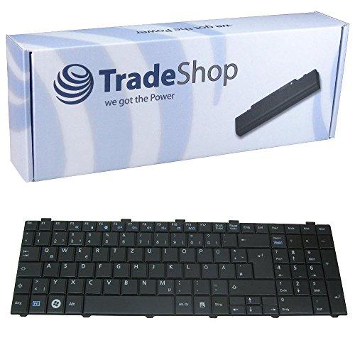 Trade Shop Premium Laptop TastaturNotebook Keyboard Ersatz Austausch Deutsch QWERTZ fur Fujitsu Siemens Lifebook A530 A531 AH530GFX AH512 AH530HD6 AH530 AH531 NH751 Deutsches Tastaturlayout