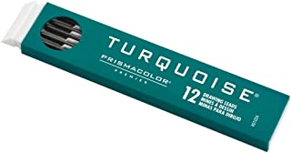 Prismacolor Turquoise Graphite Drawing Leads, HB, 2mm, 12 Count