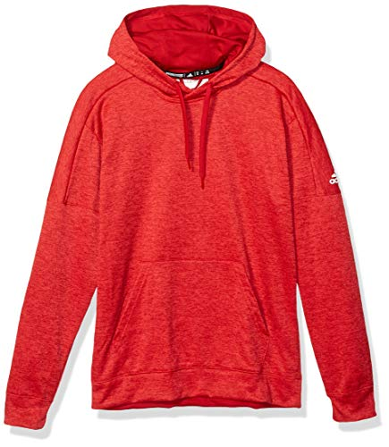 adidas Athletics Team Issue Pullover, Power Red Melange/White, X-Small