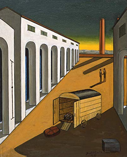 Berkin Arts Giorgio De Chirico Giclee Canvas Print Paintings Poster Reproduction(Unknown) #XFB