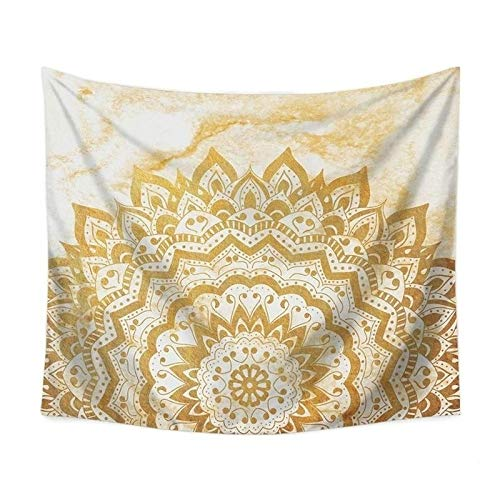 WERT Estilo Bohemio Mandala Flor patrón hogar Tapiz Colgante de Pared decoración Fondo Tela Tapiz A6 73x95cm