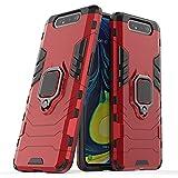 XG CASES XIAOGUA Étuis et Covers pour Samsung Galaxy A80, TPU PC Hard PC SM-A805F Porte-Bague Stand...