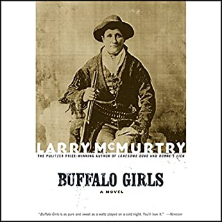 Buffalo Girls audiobook cover art