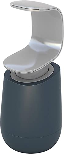 Joseph Joseph C-Pump Single-Handed Soap Dispenser, Grey