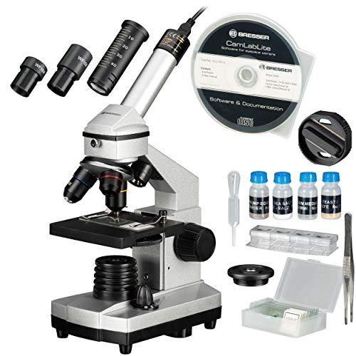 BRESSER JUNIOR Set Microscopio 40x-1024x con...