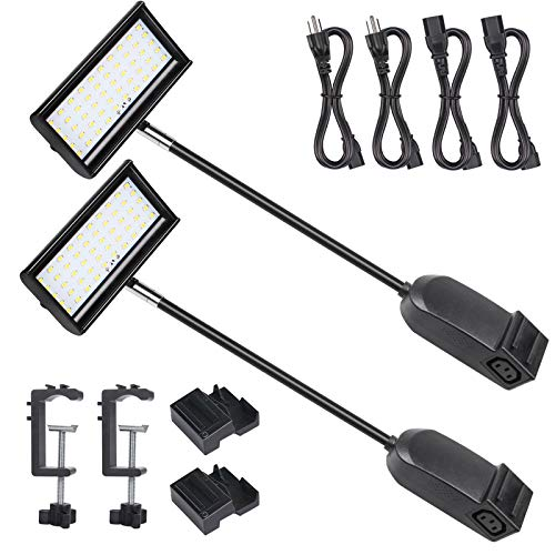 HitLights Trade Show Lights LED Display and Exhibit Arm Lighting, Connectable Tradeshow Lights...