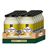 Calvé Salsa Allioli - Pack de 12 x 225ml (Total 2700ml)