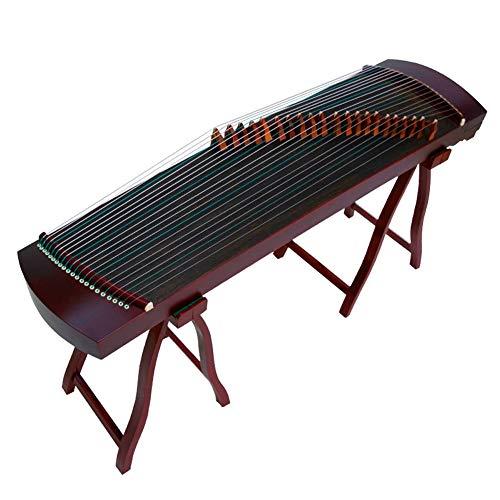 GuanXiao China Guzheng Anfänger Spielen des kleinen Zither Palisander Oberflächenuntersuchung Ethnic Orchesterinstrumente