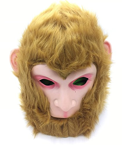JerryCostume Chinese Monkey King Sun Wukong Cosplay Mask Halloween Cosplay Costume Mens 2018