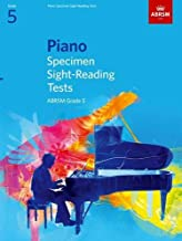 Piano Specimen Sight-reading Tests