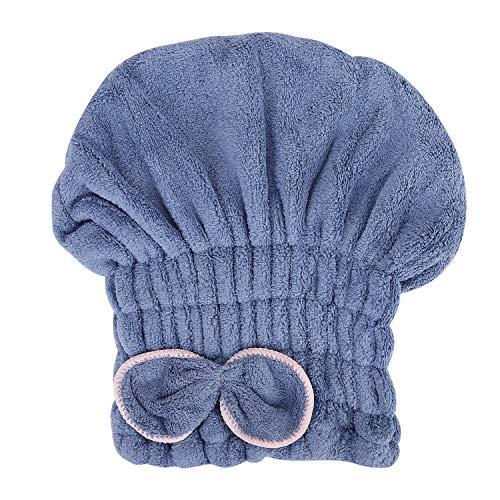 ITODA hoofdhanddoek microvezel haartulband voor dames meisjes absorberende haarhanddoek zonder knoop haardroog met strik haar droog handdoek elastische badhanddoek voor volwassenen en adolescenten