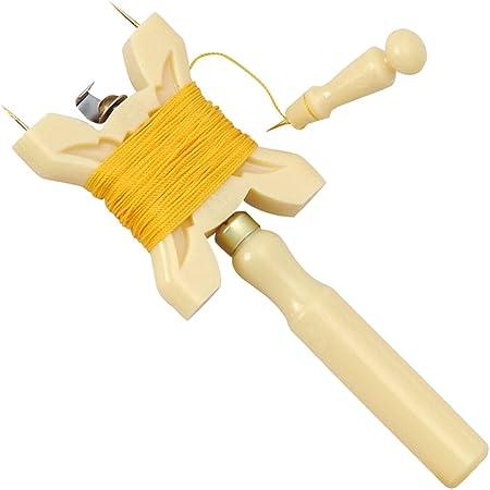 千吉 プラスチック製凧糸巻セット 針付 No.176249