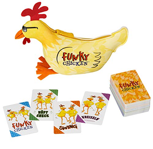 KOSMOS 695040 Funky Chicken, Kartenspiel, in deutscher Sprache