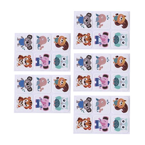 Cartoon Mosquito Patch Square Anti-Mosquito Repell 10sheets=60pcs Cartoon Mosquito Patch Square Anti-Mosquito Repellent Patch Stickers For Children Toddler Infant Kids For Children Toddler Infant Kids