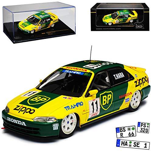 Hon-da Civic EG9 JTCC 1994 Hara 1991-1995 RAC242 1/43 Ixo Modell Auto
