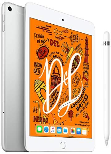 iPad Mini 7.9 inch Wi-Fi+Cellular 64 GB Silver+Apple Pencil (1st Generation)