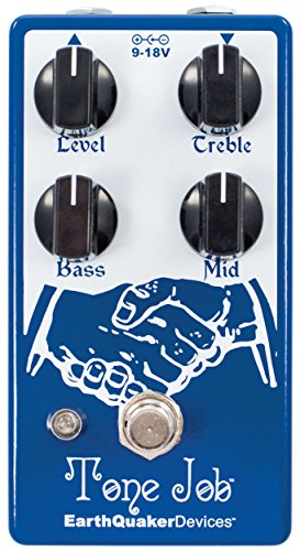 small EarthQuaker Device Tone Job V2 EQ & Boost Guitar Effects Pedal