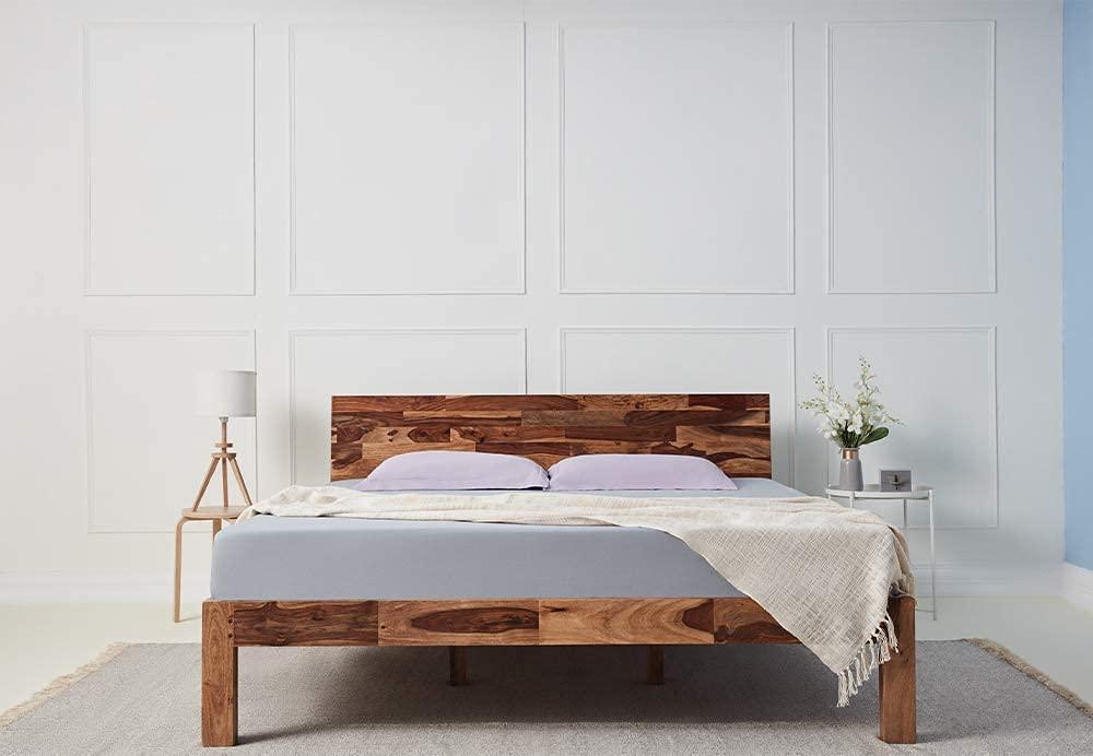 Wakefit Foam Spring 8 Inch King Size Mattress  75x72x8 Inches, Medium Firm, White  Mattresses   Box Springs