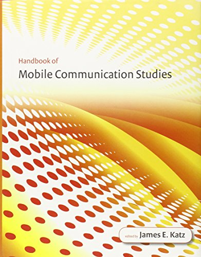 Compare Textbook Prices for Handbook of Mobile Communication Studies  ISBN 9780262113120 by Katz, James E.