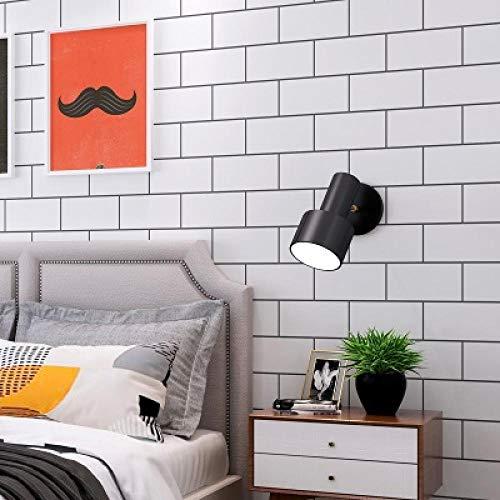 Tapeten Vliestapete Modern Waterproof Pvc Vinyl Contact Paper Diy Self Adhesive Wallpaper For Bedroom Bathroom Kitchen Backsplash Home Decor Sticker-Rectangle_White_3Mx60Cm
