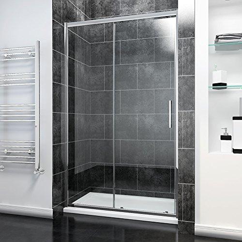1200mm Sliding Shower Door Modern Bathroom 8mm Easy Clean Glass Shower...