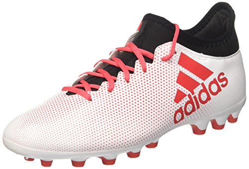 adidas Herren X 17.3 AG Fußballschuhe, Weiß (Ftwwht/Reacor/Cblack), 40 2/3 EU
