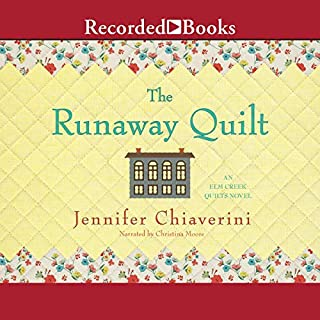 Runaway Quilt audiobook cover art
