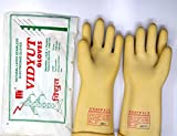 Vidyut Sai Safety 11 KVA Electrical Insulated Rubber Seamless Hand Gloves (355 mm)