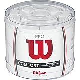 WILSON WRZ4024WH Set de 60 sur Grip Unisex-Adult, Blanc, One Size
