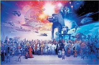 Best star wars movie galaxy poster Reviews