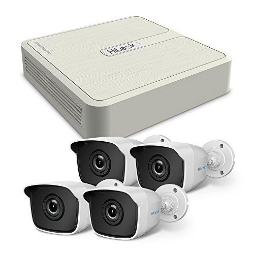 Hilook TK-4041B-PP/HiKit 720P - Mini cámara bala para exteriores, color blanco