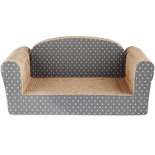 You & Me Couch Cardboard Cat Scratcher, 11', 19.75 in, Assorted